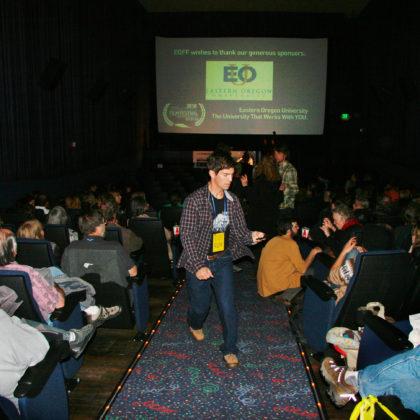 Filmmaker Benjamin Morgan: Opening Night 2010