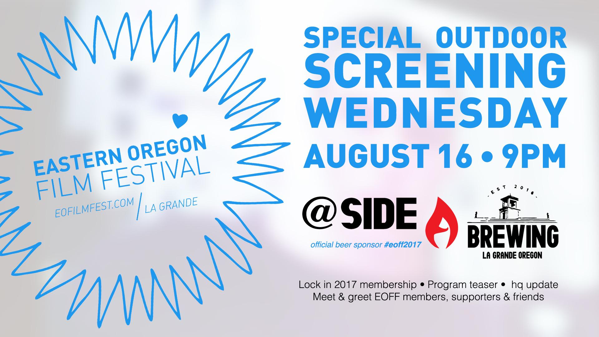 EOFF Outdoor Summer Screening
