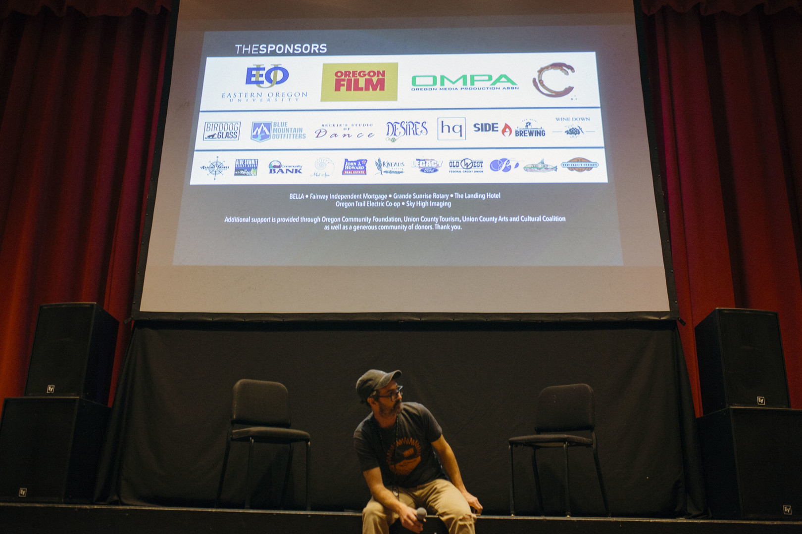 Sponsor The Eastern Oregon Film Festival