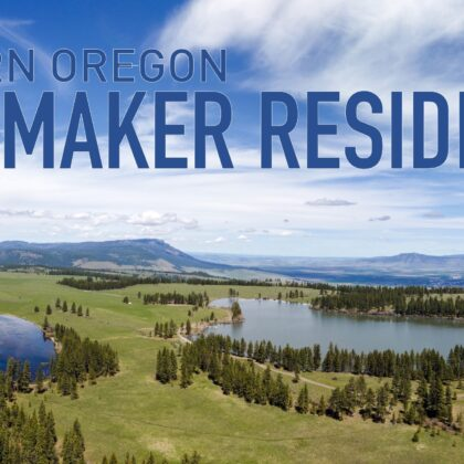 Announcing the Eastern Oregon Filmmaker Residency