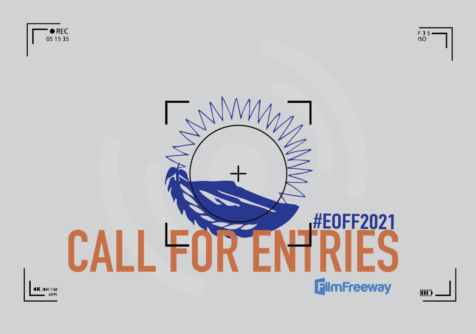 Poster for Call For Entries to Eastern Oregon Film Festival