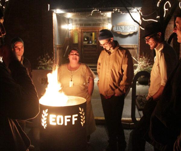 Eastern Oregon Film Festival Burn Barrell with Jim Cummings and Danny Madden